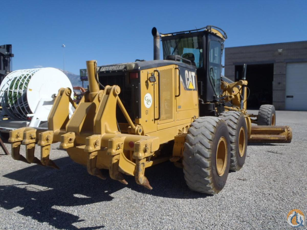 2007 CATERPILLAR 14M Motor Graders CATERPILLAR 14M Equipment Sales Inc. 18180 on CraneNetwork.com